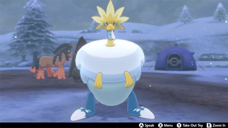Arctozolt in Pokemon Sword and Shield game