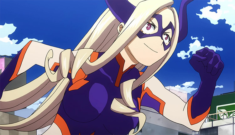Mount Lady in Boku no Hero Academia anime