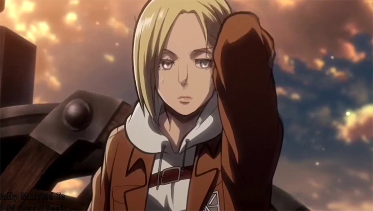 Annie Leonhart in Attack on Titan anime
