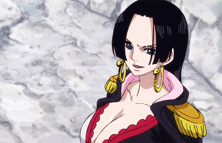 Boa Hancock in One Piece anime