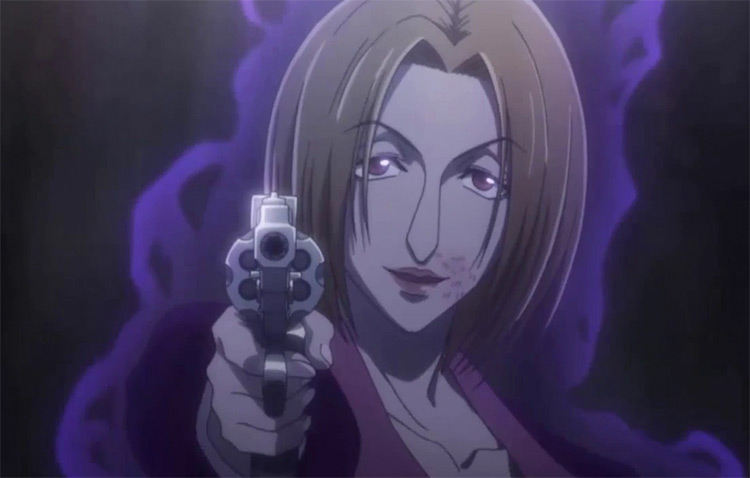 Pakunoda in Hunter x Hunter anime