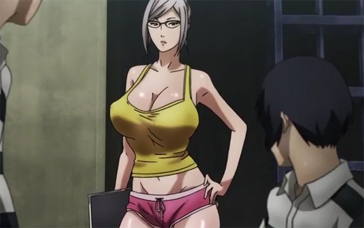 Meiko Shiraki in Prison School anime