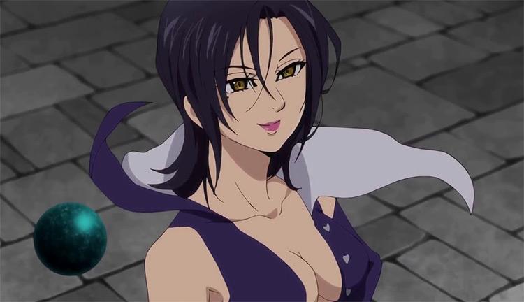 Merlin in Seven Deadly Sins anime