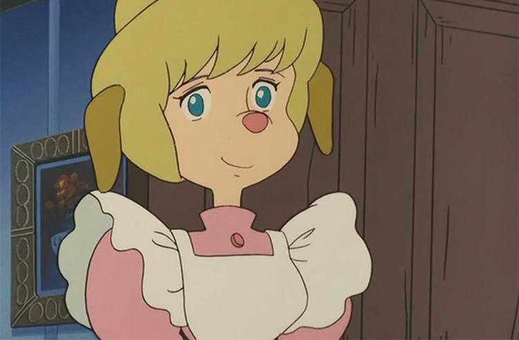 Marie Hudson in Sherlock Hounds anime