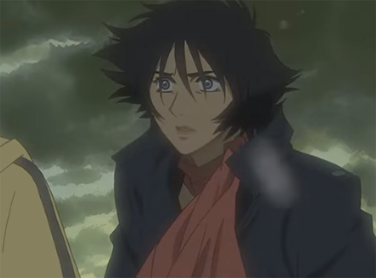 Blue in Wolf's Rain anime