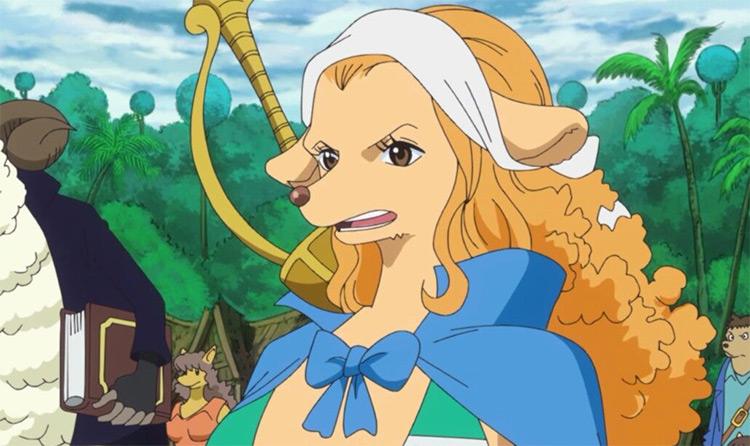 Wanda in One Piece anime