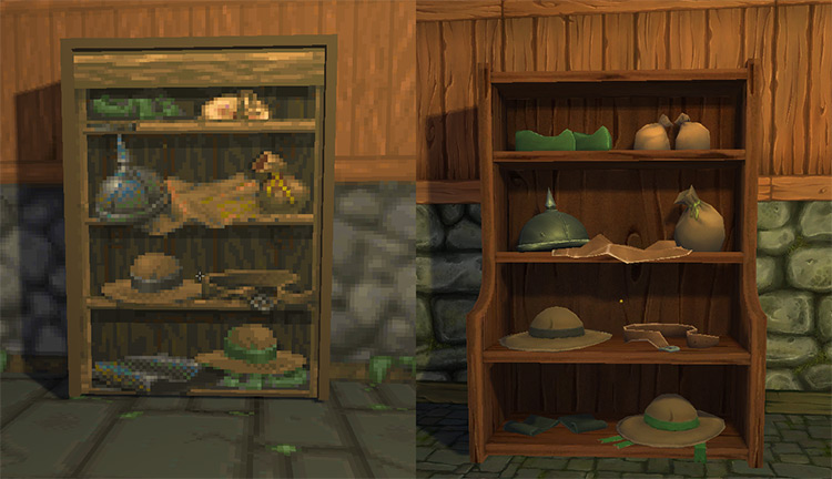 Hand-painted Model Replacements Daggerfall Unity mod