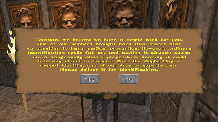 Daggerfall Unity Quest Pack mod
