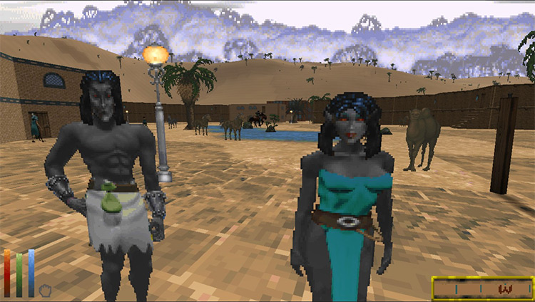 Villager Immersion Overhaul Daggerfall Unity mod