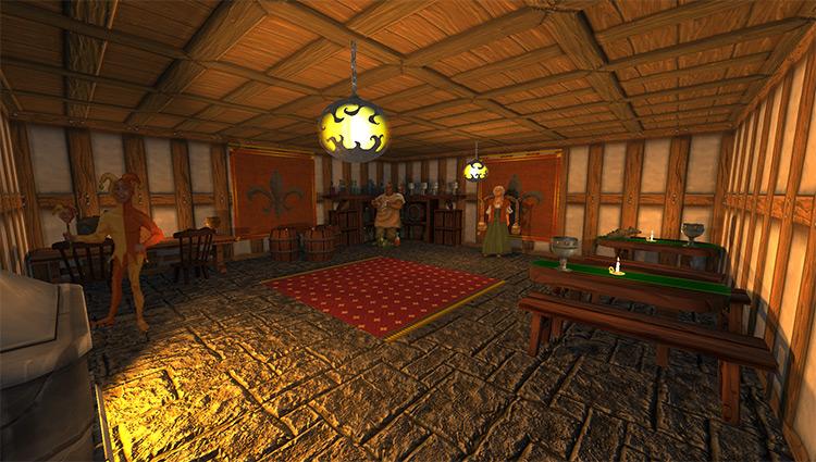 Taverns Redone Daggerfall Unity mod