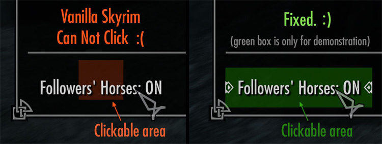 Better Message Controls Skyrim mod