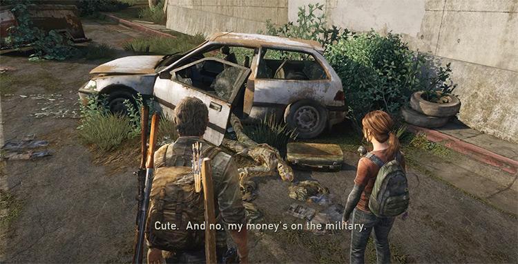 The Last of Us gameplay screenshot