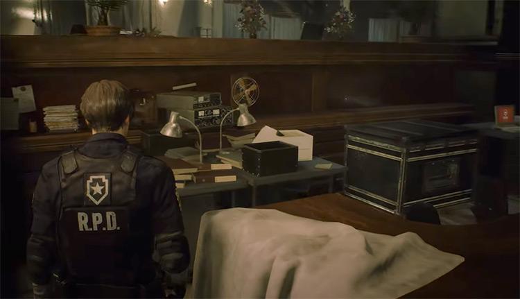 Resident Evil 2 Remake gameplay screenshot