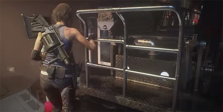 Resident Evil 3 Remake gameplay screenshot