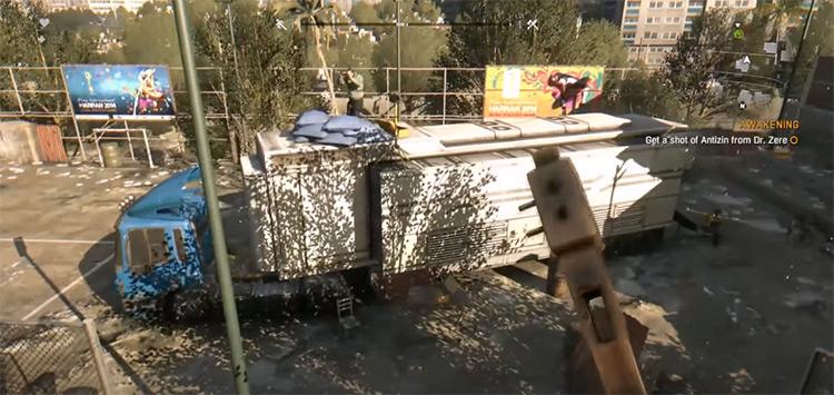 Dying Light gameplay screenshot