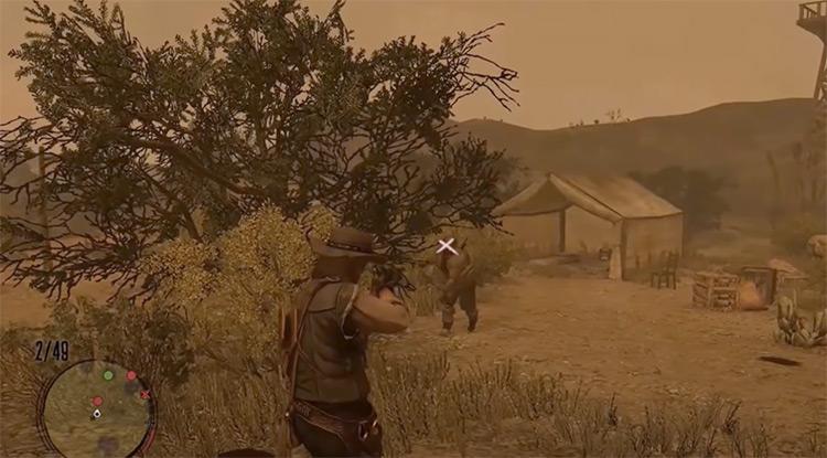 Red Dead Redemption: Undead Nightmare gameplay screenshot