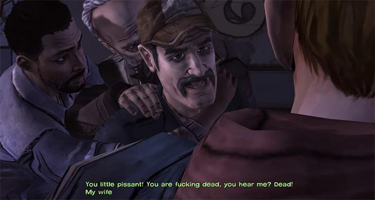 Telltale's The Walking Dead gameplay screenshot