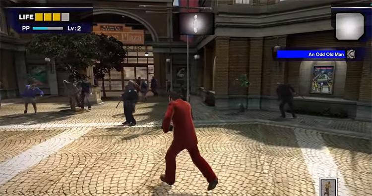 Dead Rising gameplay screenshot