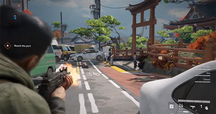 World War Z gameplay screenshot