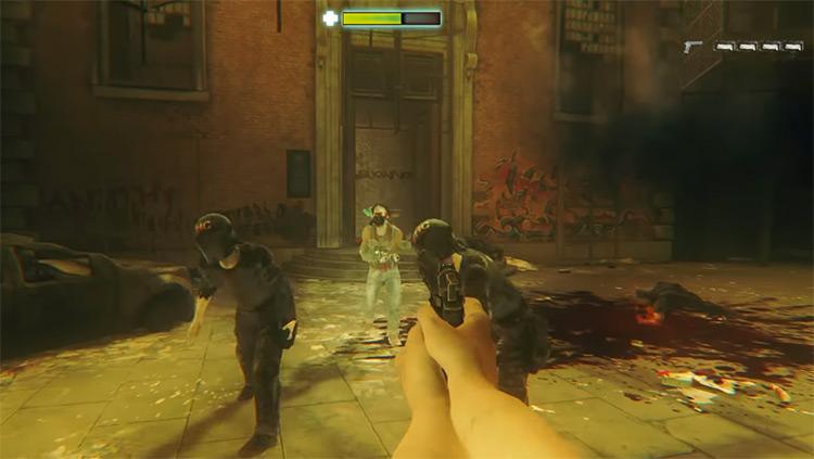 ZombiU gameplay screenshot