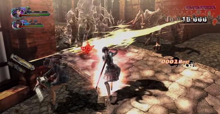 Onechanbara Z2: Chaos gameplay screenshot