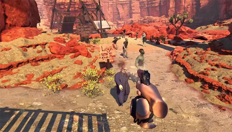 Arizona Sunshine gameplay screenshot