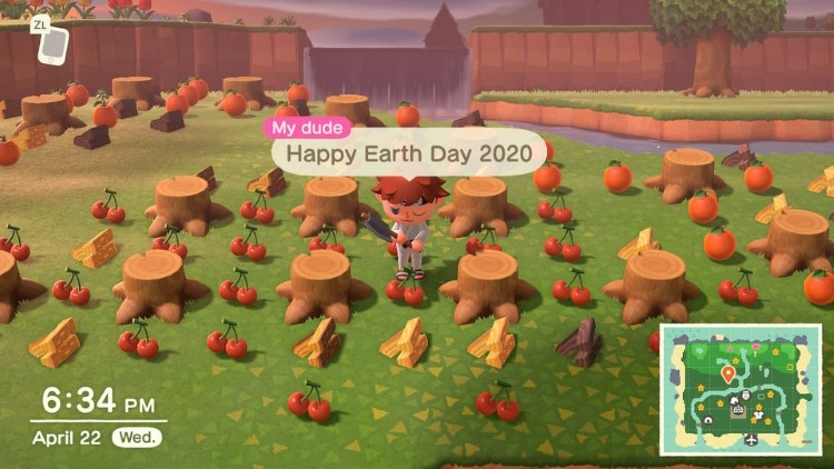 Happy AC Earth Day meme
