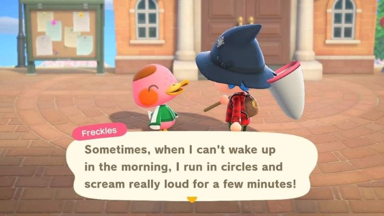 Freckles Animal Crossing meme