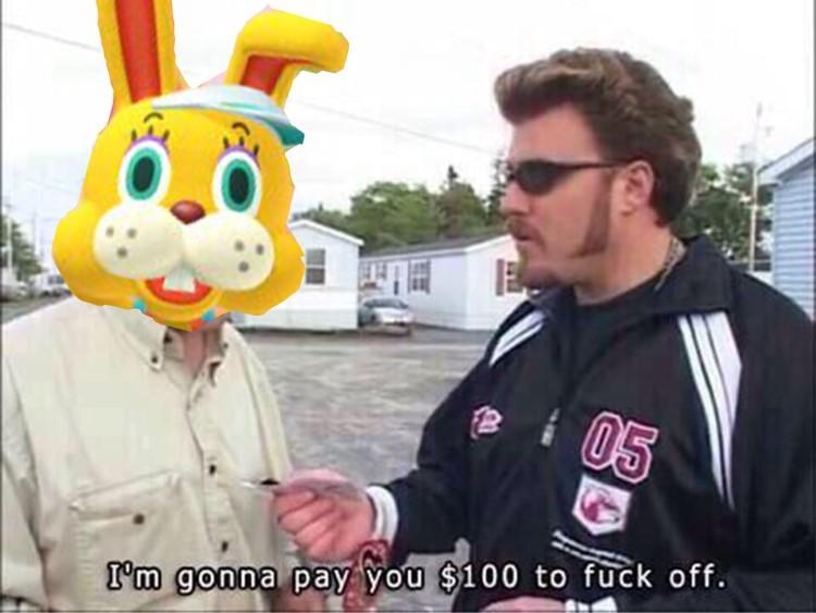 Bunny guy annoying AC New Horizons
