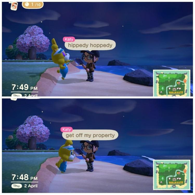 Hippedy Hoppedy Animal Crossing