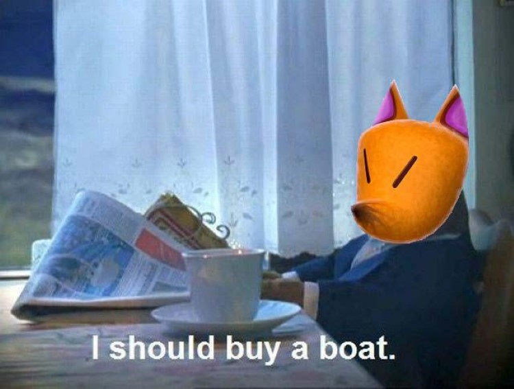 Redd buy a boat meme