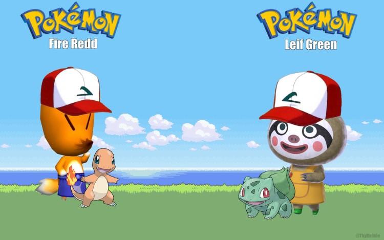 Pokemon crossover Animal Crossing
