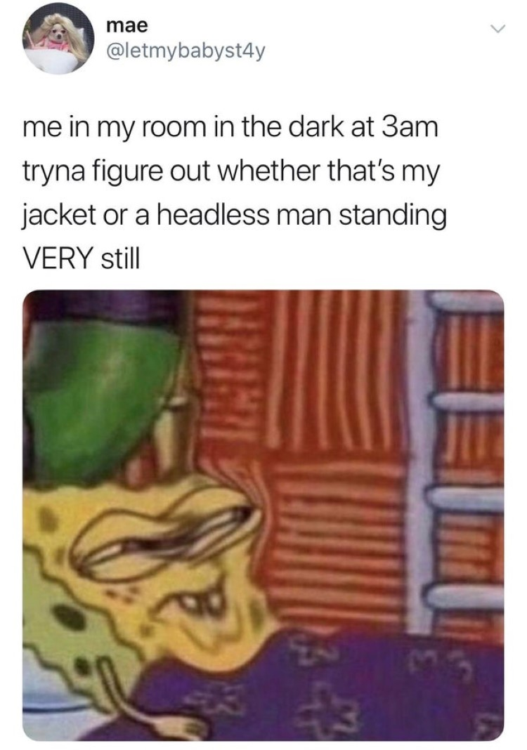 In room dark 3am meme