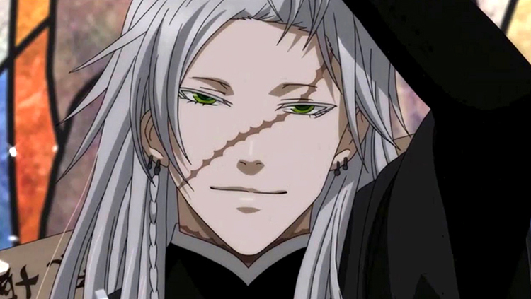 Undertaker from Black Butler anime screenshot