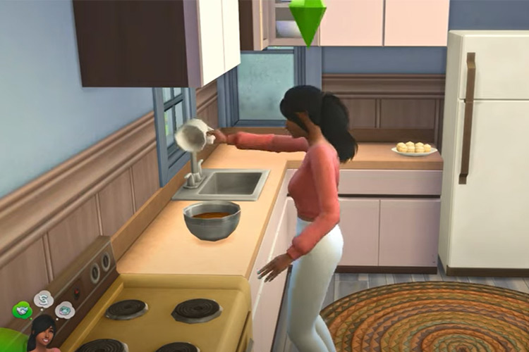 Famous Pastry Chef Aspiration Sims mod
