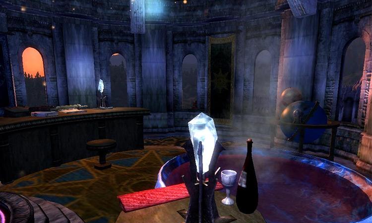 Arch-Mage's Study TES IV Oblivion