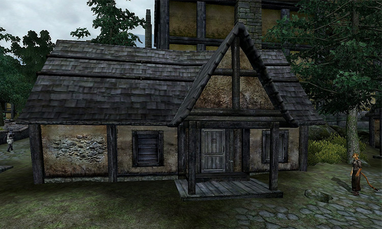 Leyawiin House from TES IV Oblivion game
