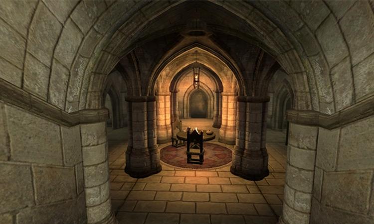Deepscorn Hollow from TES IV Oblivion game