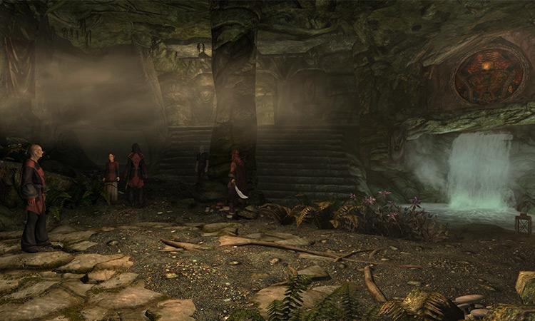 Dark Brotherhood Sanctuary in TES IV Oblivion