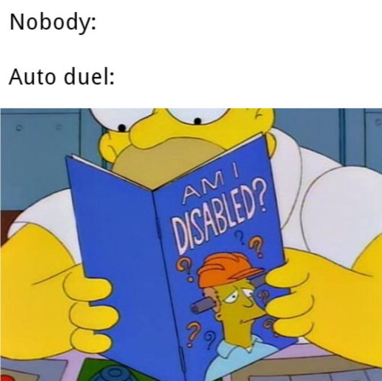 Nobody Simpsons meme