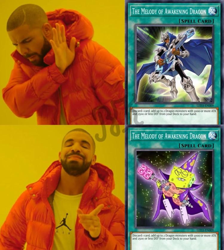 Melody of Awakening Dragon meme