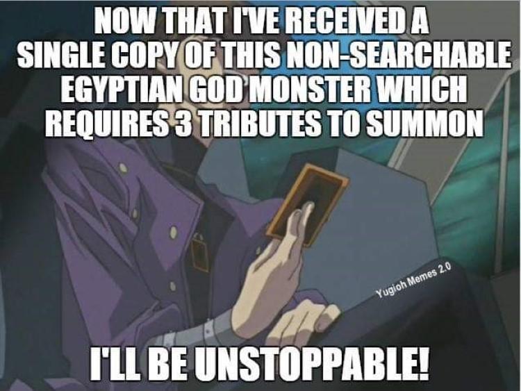 Kaiba unstoppable meme