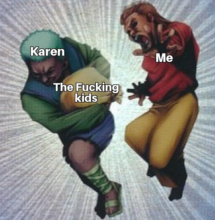 Karen taking the kids meme YuGiOh