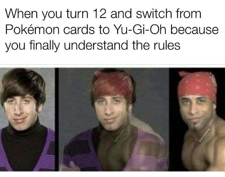Switching away from YuGiOh rules meme