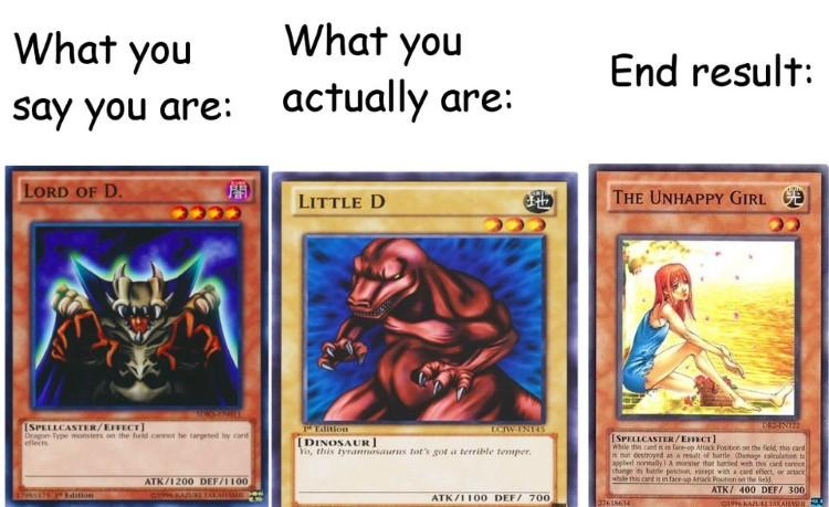 End result joke meme