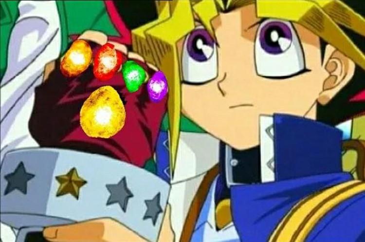 Yugi glove meme