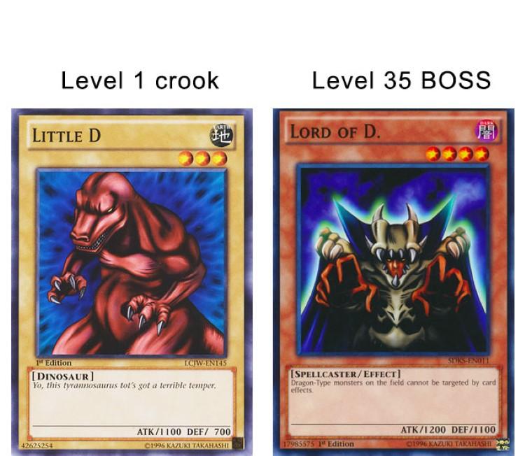 Level 35 boss yugioh
