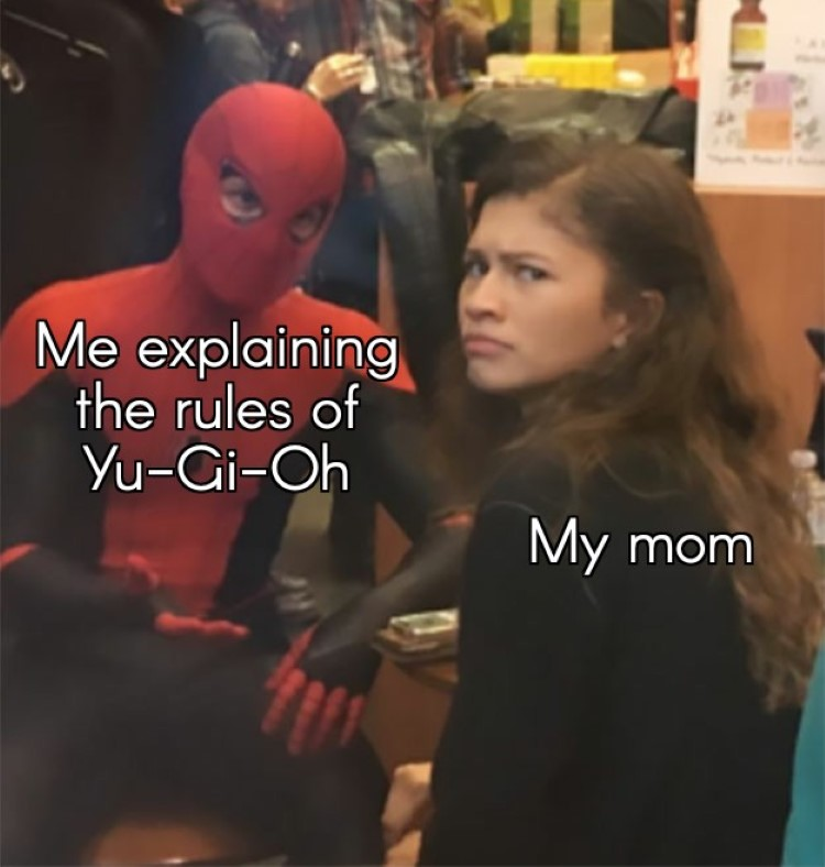 Mom doesnt understand YuGiOh rules