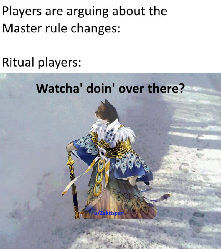 Ritual players YGO