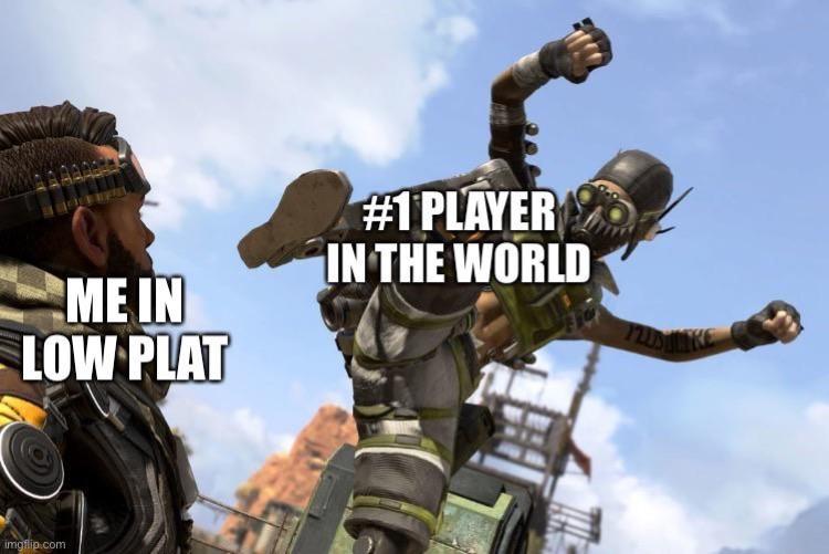 #1 Apex Legends player meme